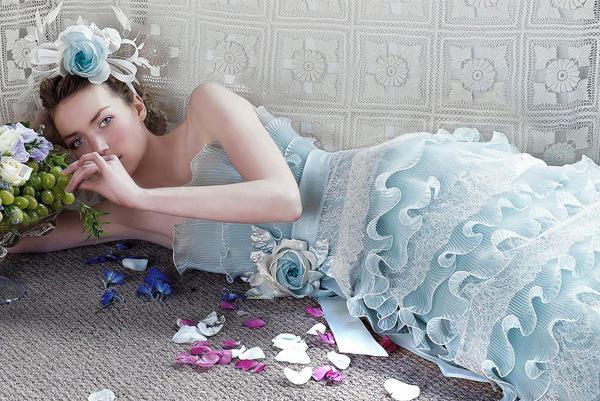 Blue Wedding Dresses 2017