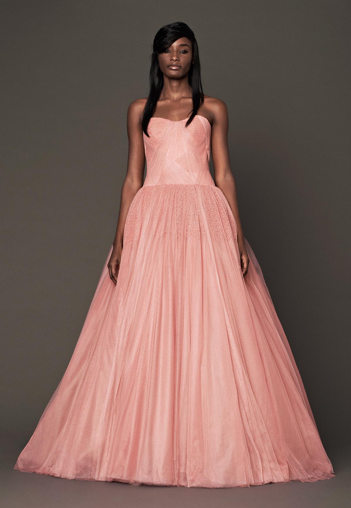Peach Wedding Dresses (2017)